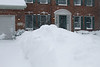 About 10 min after shoveling--another few inches on the driveway already