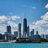 "Chicago skyline from the lake.<br /> ""Chi-Town"""
