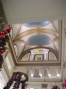 Chicago visit  Inside Marshall Fields & Co. at Christmas Time