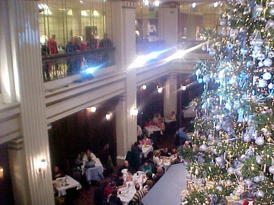Chicago visit  The Famous Walnut Room in Marshall Fields