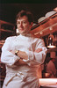 Chicago,IL- Charlie Trotter in his restaurant in Chicago