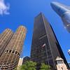 Marina & Trump Towers, Miles van der Rohe