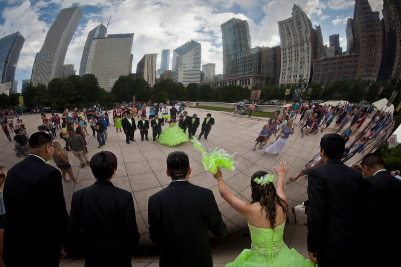 Chicago Wedding Party (By the Bean)