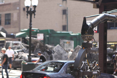 5963 - Transformer 3 was being filmed while we were there.  Coming to your theatre in July 2011