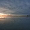 Winter sunrise Chicago