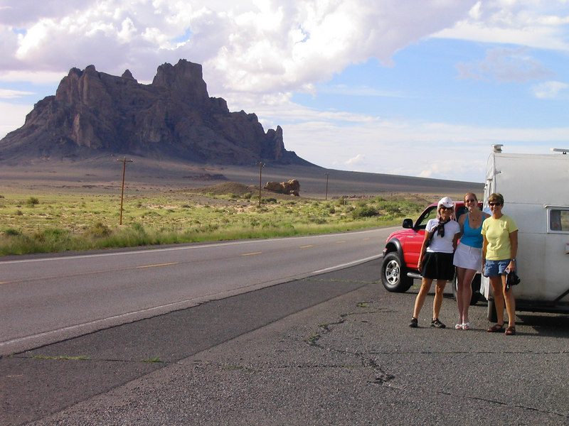 SKERT, Marylee, Bonnie.  We thought this was Shiprock, AZ<br /> It is now;-)