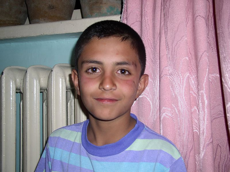 Meet Omar Segared. He is quite a young Afghani. 10 years old, speaks English, Dari, Pashtu and a little French. His mom is an English teacher, father runs a small business. Omar was at the Friday dinner. I also write about him in next week's letter. Very smart young man.