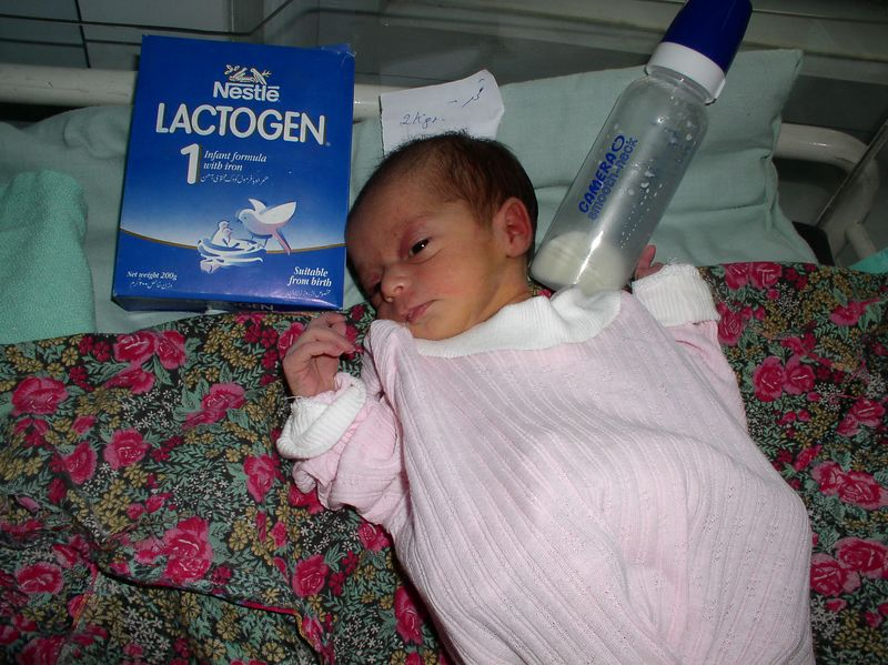 """I spent the $20.00 given to me by """"Mary.dot"""" to buy this abandoned baby and the nursery a supply of Lactogen(12 boxes)and 2 baby bottles. BEST $20 ever spent."""