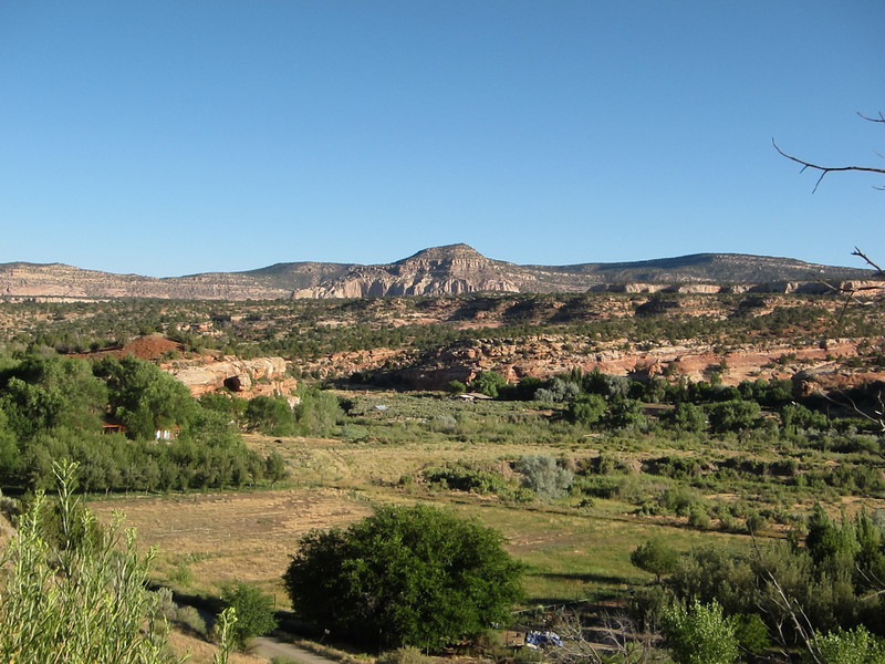 West of Cortez, CO just across the Utah line on the way to Hovenweep.