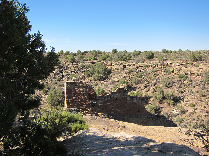 Canyon entrance at Hovenweep.
