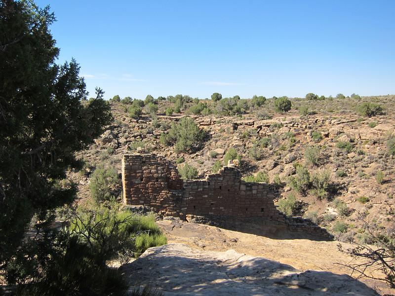 Canyon entrance at Hovenweep.