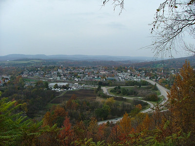 Holidaysburg from above