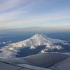 Flight over Mt St  Helens