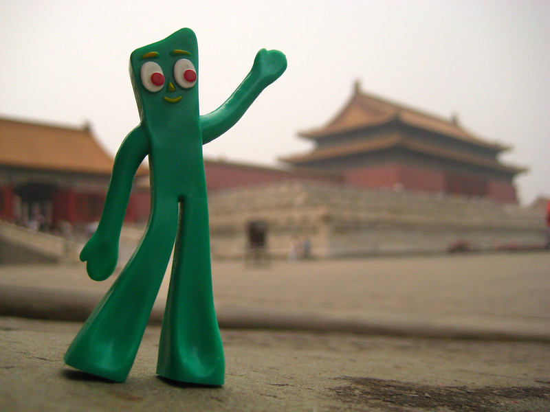 Gumby @ The Forbidden City