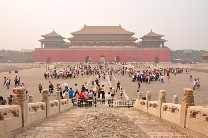 The Forbidden City swarm