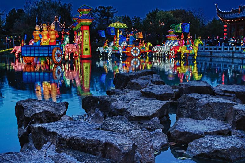 Chinese Lantern Pond and Rocks_MG_9865_HDR
