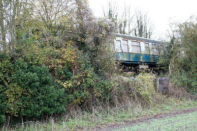 Seen through the bushes on the scrap line is MK1 CK E7931.