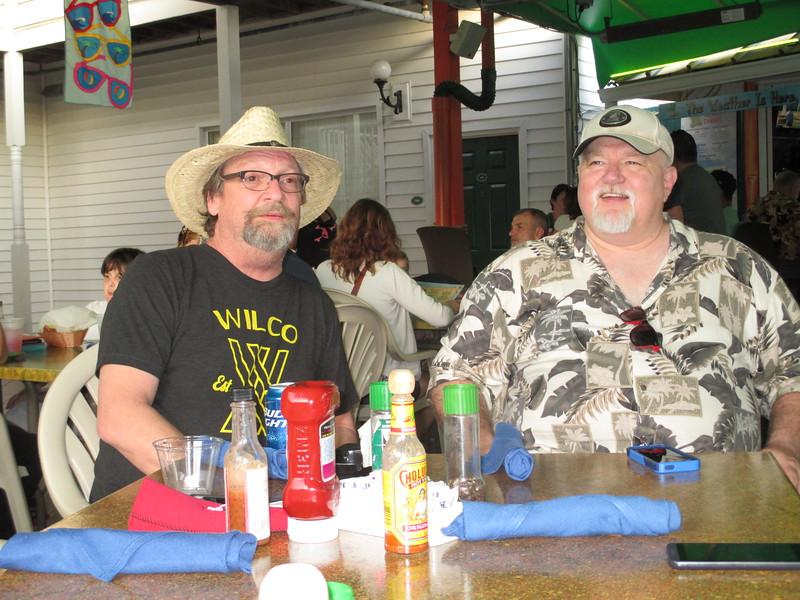 Cowboy Keith and Robert.