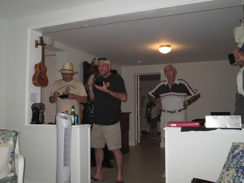 Cowboy Keith, Dave, Roscoe Jones.
