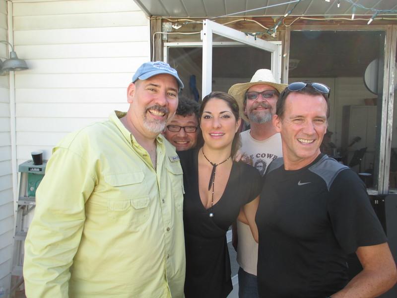 Me, Scott, Georgia, Cowboy Keith, Toney