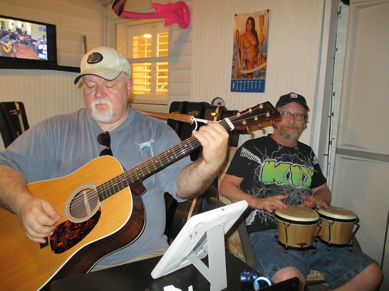 "Robert Steven O'Neal and Keith ""Cowboy"" Fulp."