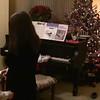 Z on piano, C and J dance Christmas 2008
