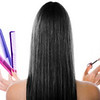 Black hair and hairdresser's tools
