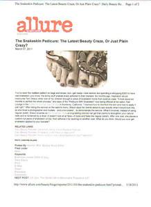 Allure Magazine Online