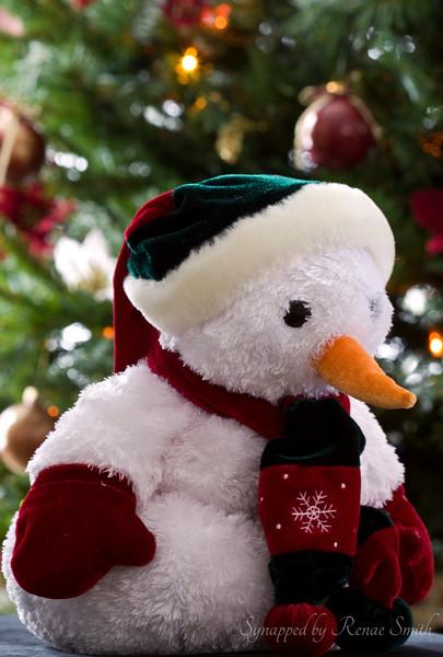 Christmas Snowman Style