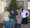 Brittany, Eliah, Tristan, and Robin - Christmas Eve