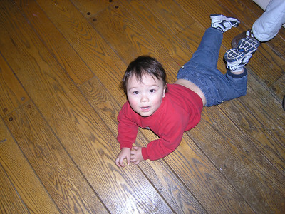 I'm not so sure but I think he fell!!!