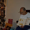 "Grandpa reading ""T'was the night before Christmas..."""