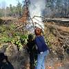 Our burn pile.