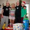 The Cooley Family...Christmas morning 2012