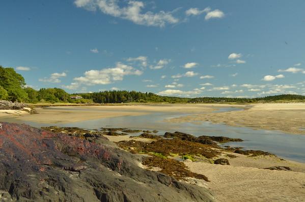 Small Point  -  Little Beach  mid-summer