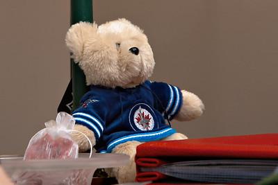 Stacie's Jets bear.