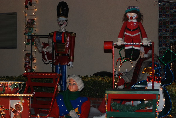 Christmas Decor around Orange County