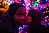 Atreyee and Melvin at the Magic Tree<br /> <br /> We went to the Magic tree last night with Melvin and Atreyee.  The Magic tree is bigger than the Church tree, and is equally as well covered with bright Christmas lights (nearly 100% covered).  It is crazy magical!