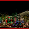 """Christmas House in Punta Gorda, FL<br /> What a lot of work went into this!!! It's decorated outside front, back, sides, and inside, through and through!<br /> Why? They said """"For the pleasure of meeting all the wonderful people who stop by to look and chat""""."""