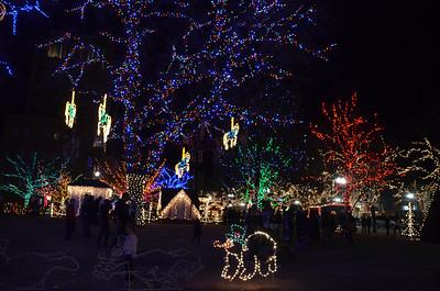 November 29, 2014 - Christmas Village in Ogden, Utah