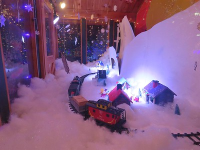 December 6, 2018 - Christmas Village in Ogden, Utah