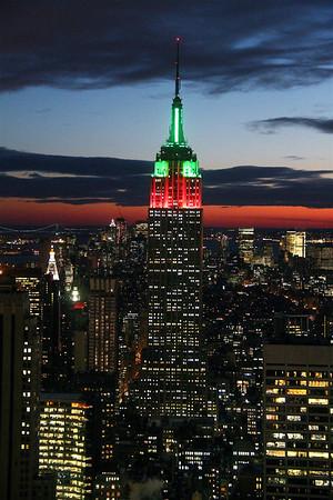 Christmas in New York, 2009