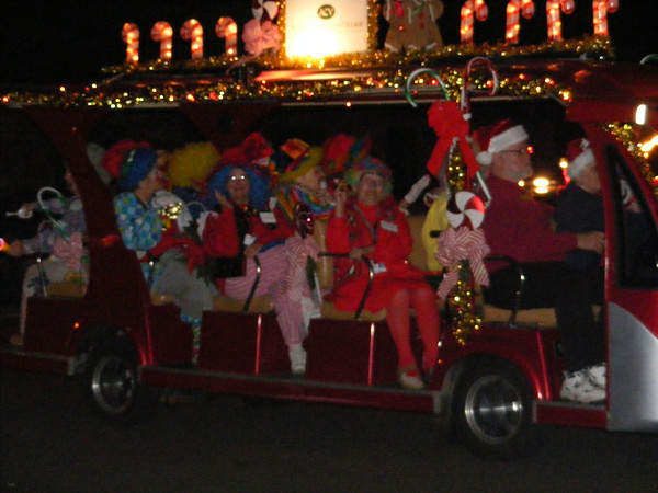 The Caring Clowns from the Advent Christian Village.