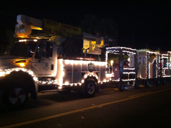 Suwannee Valley Electric Cooperative was represented well in the parade.
