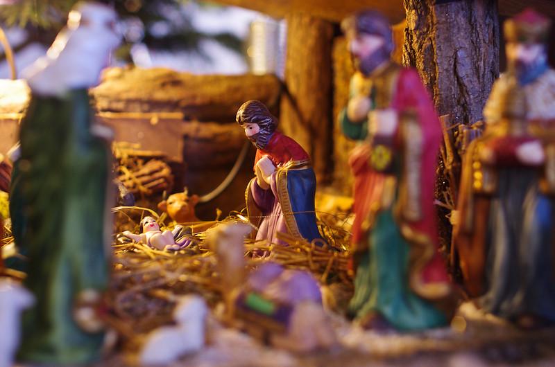 La petite Crèche de Noël (Pentax FA 35 f/2)