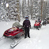 infamous sled ride from Duck Creek Village, UT