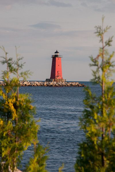 Manistique East Breakwater Lighthouse, Manistique, MI