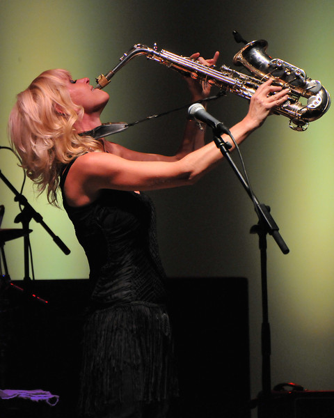 Mindi Abair at Naperville Jazz Fest 2012