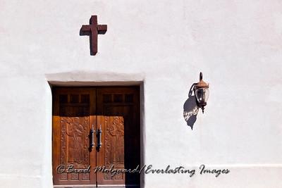 """""""Cross Lamp Entry"""" / St. Francis de Paula - Tularosa, New Mexico"""
