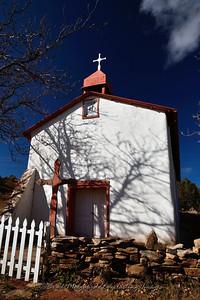 Nuestra Senora de la Luz in Canoncito. Built between 1880 and 1891.